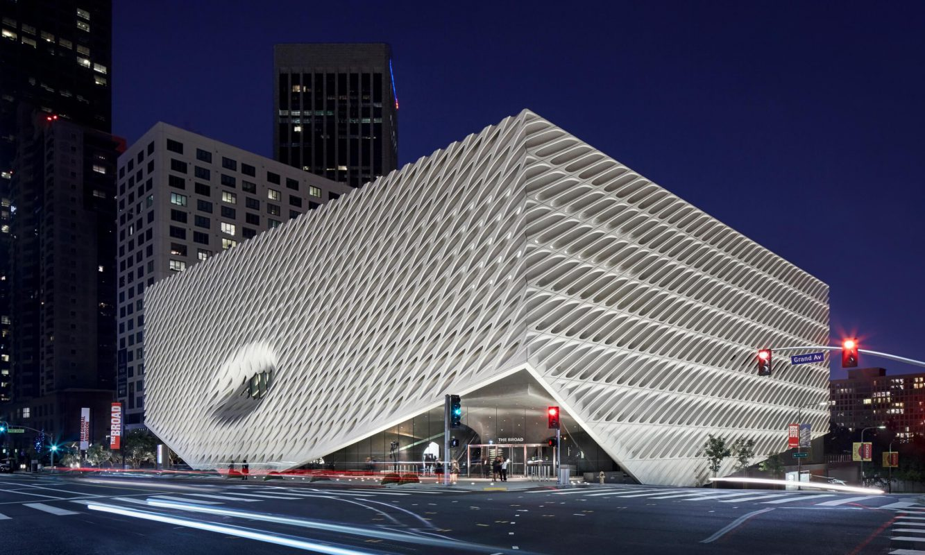 The Broad Exterior
