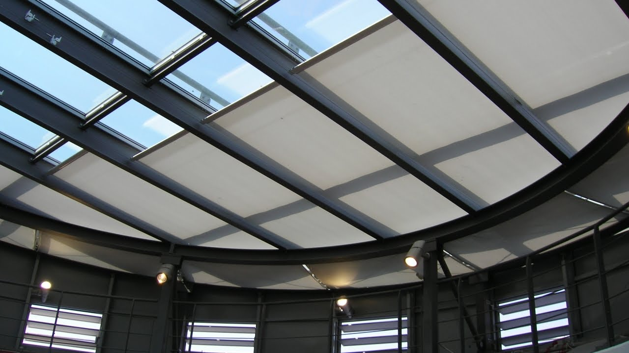 Guthrie Douglas Tensioned Solar Shading System - Tess 140