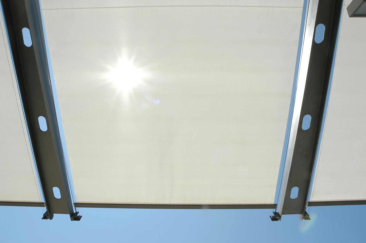 Marina Towers external blinds