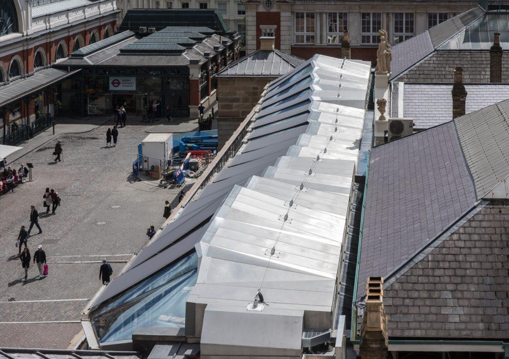 Covent Garden Open Terrace aerial