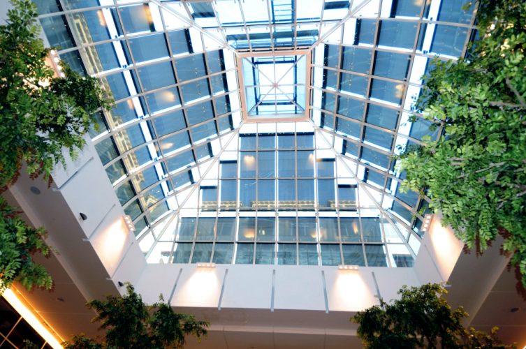 Bon Marche Atrium shading