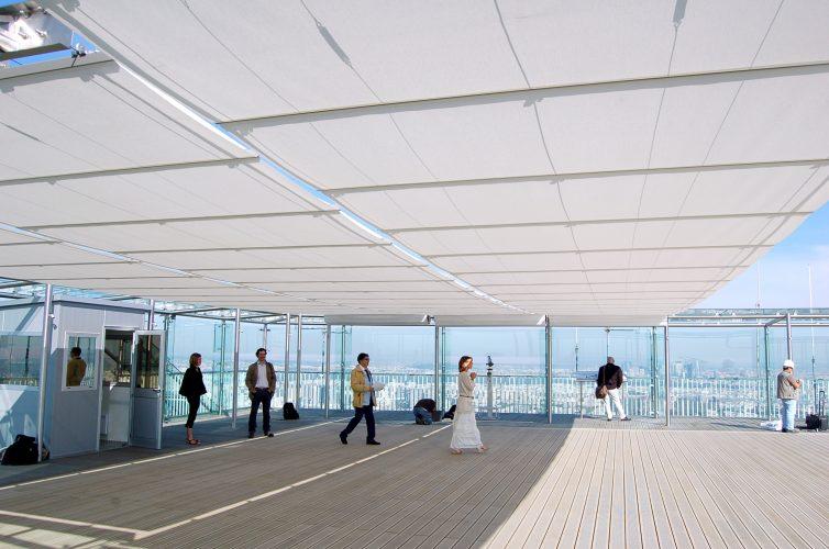 Montparnasse Tower rooftop terrace