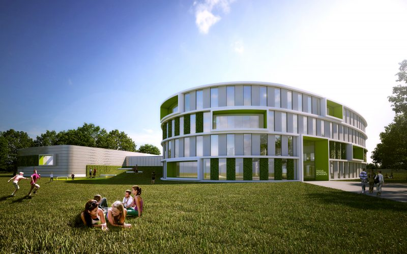 Motorised blinds: a key part of a dynamic façade - Guthrie Douglas
