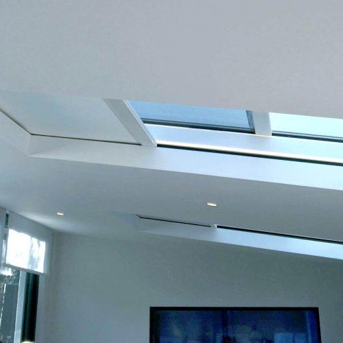 London Townhouse skylight blinds