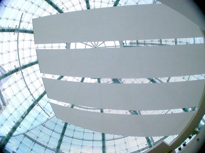 San Jose Civic Centre roof blinds