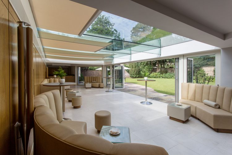 Grand Design roof blinds in residential