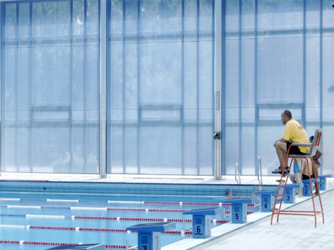Shading solution at leisure centre