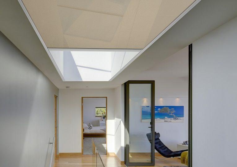 Hallway Skylight Blinds